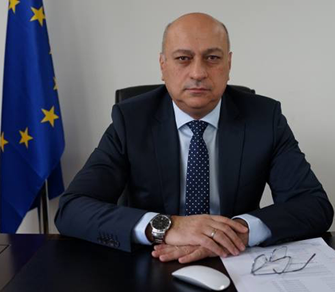 Greetings by ECU President Mr. Zurab Azmaiparashvili
